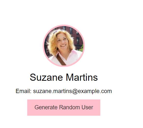 Generate Random User